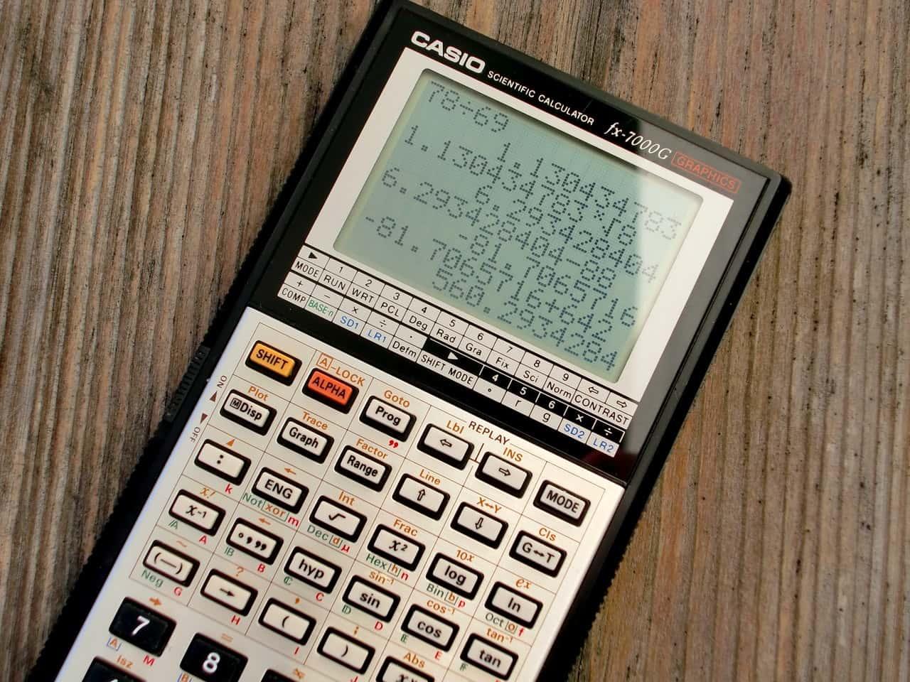 A-Level Calculator vs GCSE Calculator