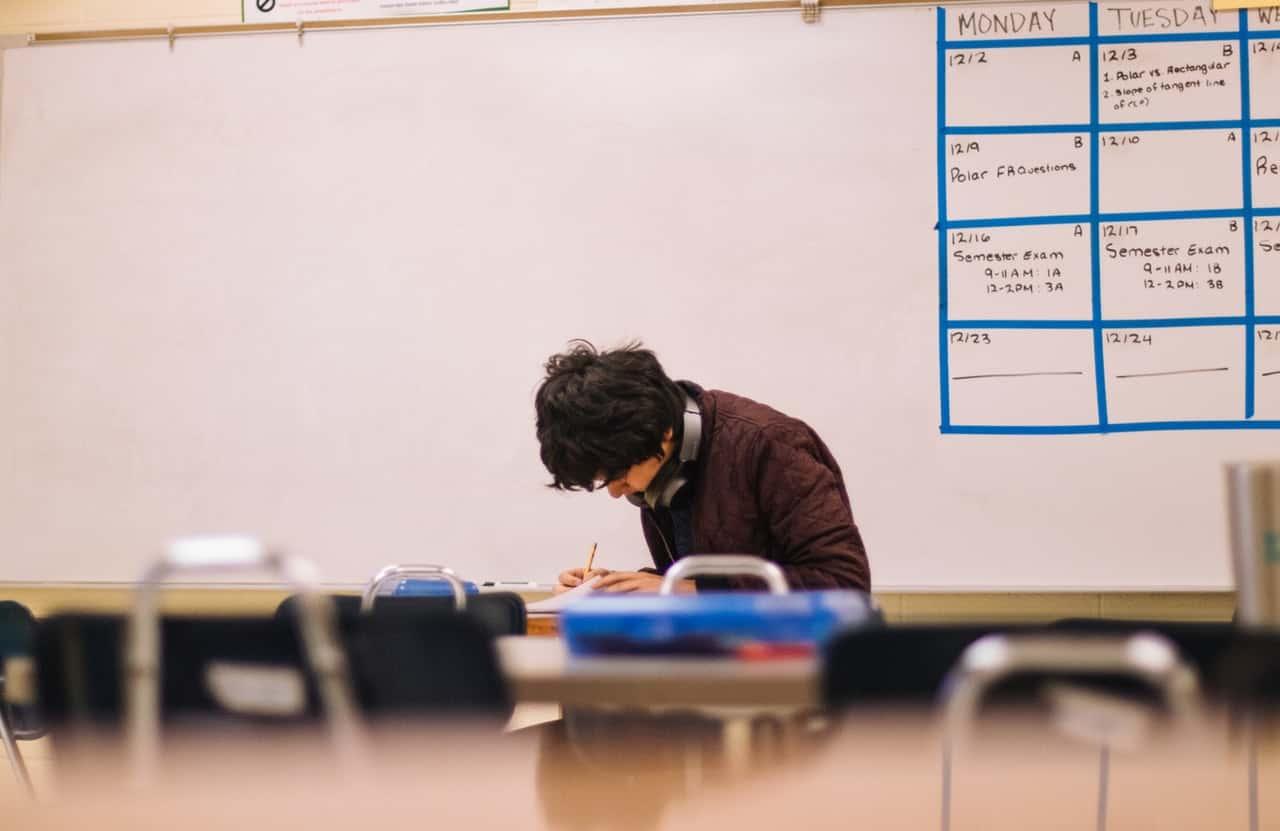 A-Level Maths Classroom