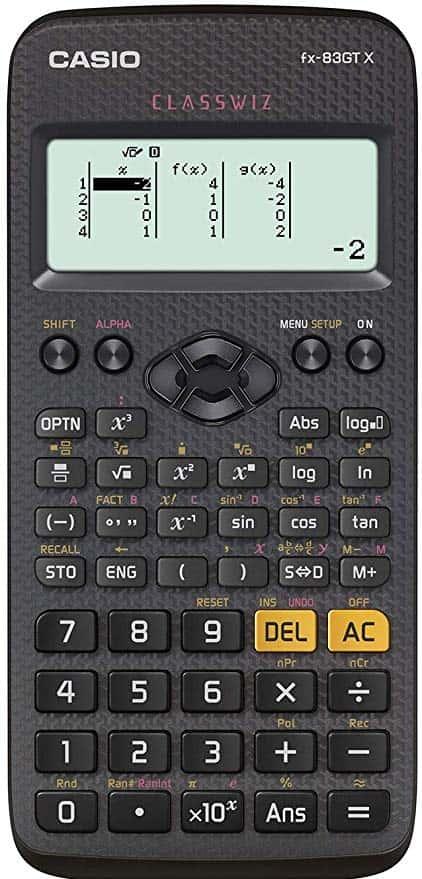 GCSE Calculator: Casio FX-83GTX