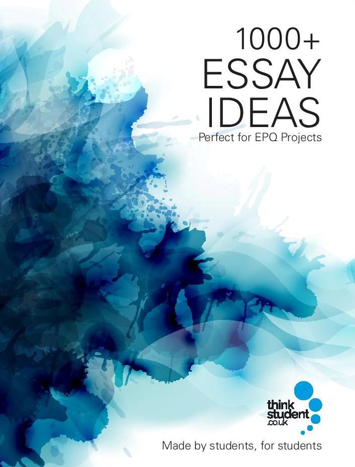 1000+ Essay Ideas Book Cover