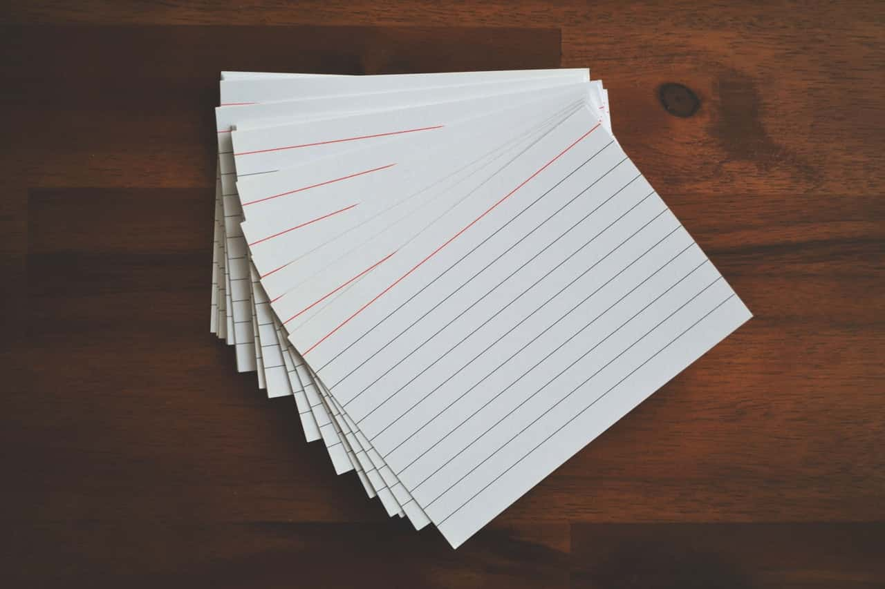 Flashcards For GCSE And A-Level